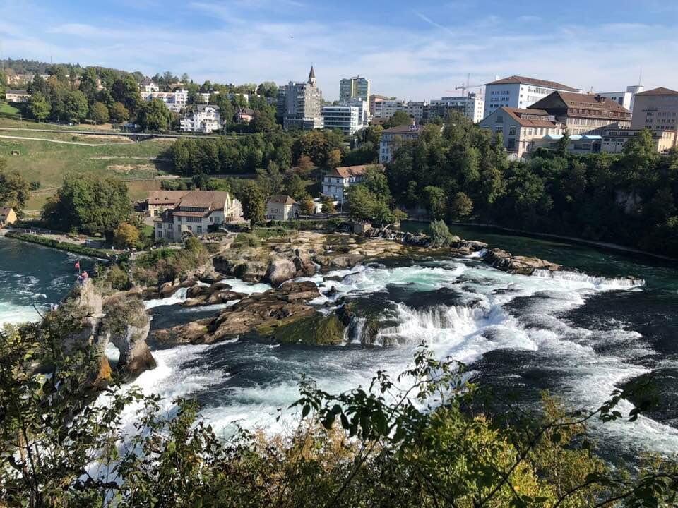 Trip to the Rheinfalls Switzerland