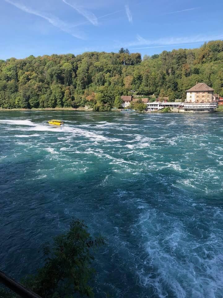 Trip to the Rhinefalls Switzerland